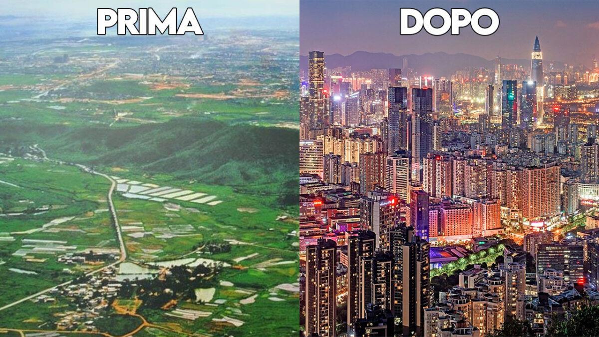 evoluzione di shenzhen