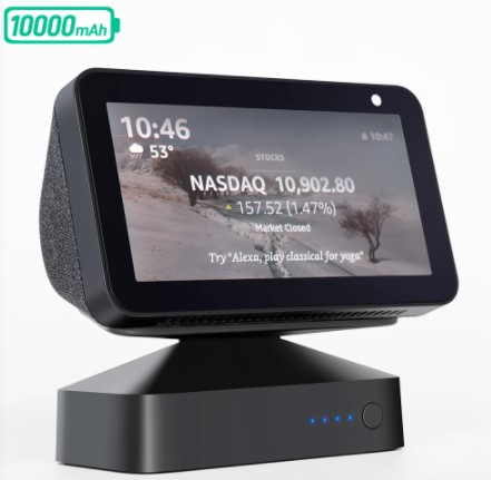 Batteria portatile base per Echo Show 5 – 10.000 mAh | AliExpress