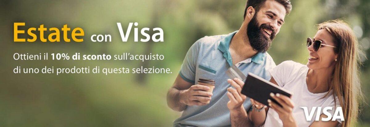 amazon offerte estate visa