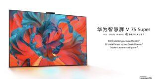 huawei smart screen tv v75 super mini LED specifiche prezzo uscita