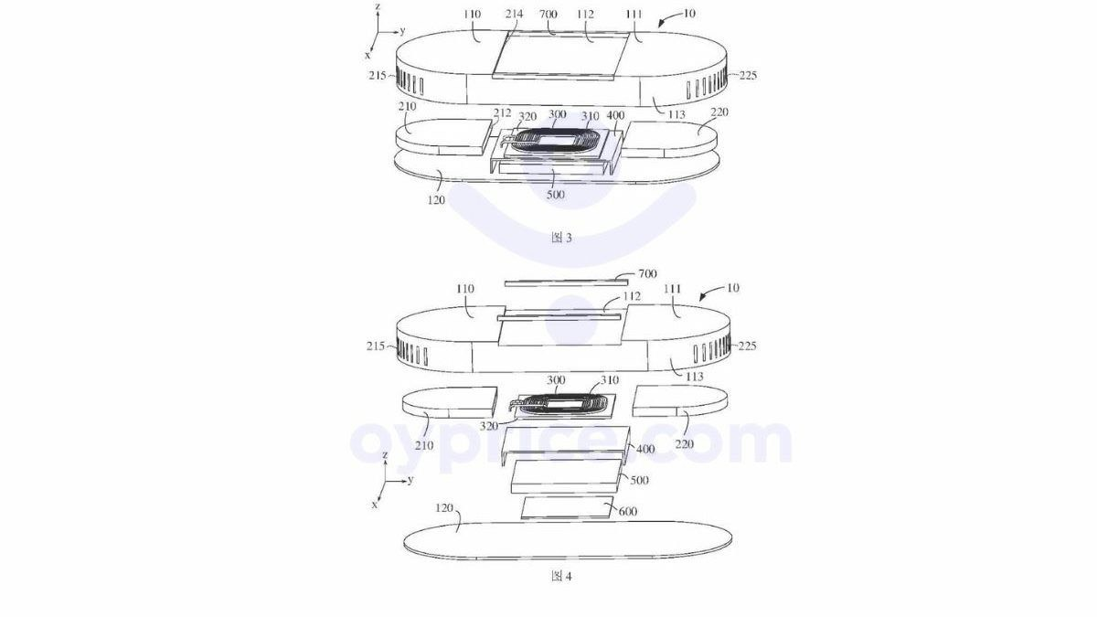 oppo brevetto ricarica magnetica caricabatterie magsafe 2