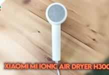 recensione xiaomi mi ionic hair dryer h300 asciugacapelli ioni negativi