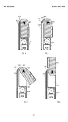 vivo smartphone flip camera brevetto 2
