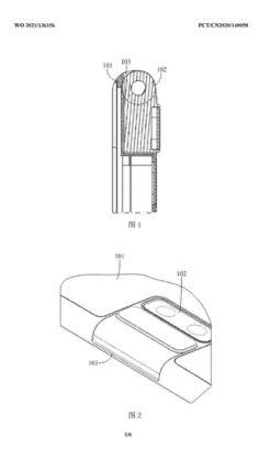 vivo smartphone flip camera brevetto 3