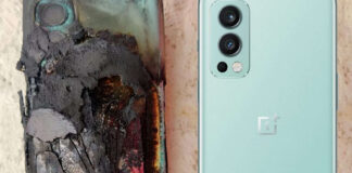 oneplus nord 2 esplode batteria