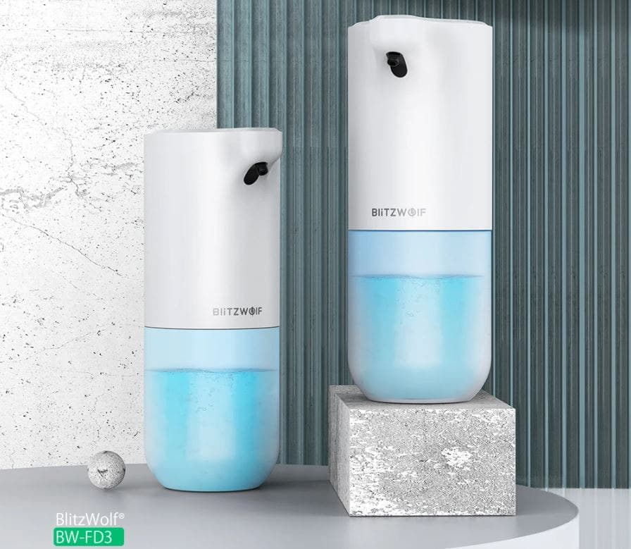 BlitzWolf BW-FD3 Dispenser Sapone Touchless   Banggood