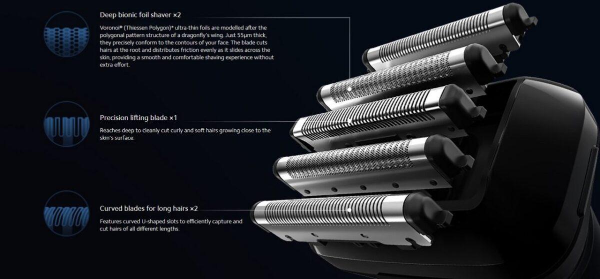 Codice sconto rasoio elettrico Xiaomi Mi 5-Blade Electric Shaver