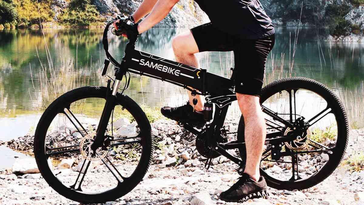 codice sconto samebike lo26-II offerta coupon bici elettrica pieghevole 2
