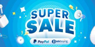 geekbuying super sale offerta codice sconto paypal