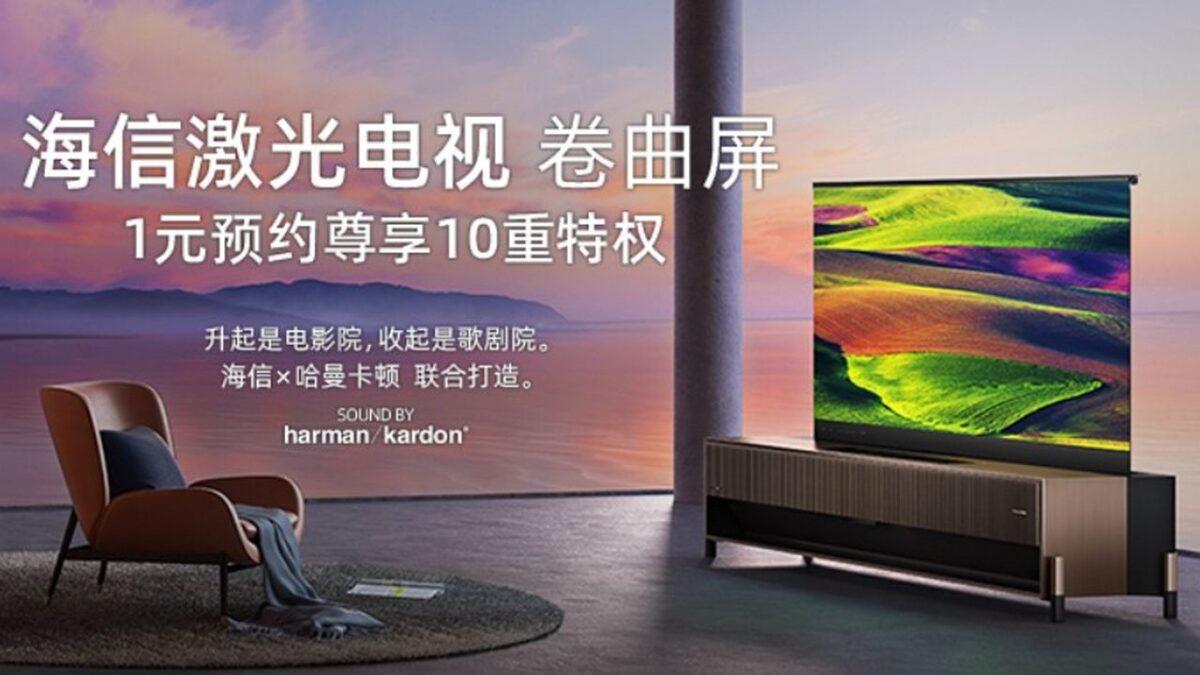 hisense laser tv smart 4k