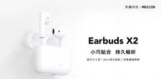 honor choice earbuds x2 moecen cuffie tws specifiche prezzo uscita