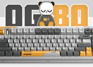 meizu tastiera meccanica wireless trasparente pandaer iqunix prezzo