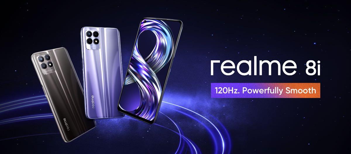realme 8i design 09/09