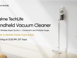 realme techlife handheld vacuum cleaner aspirapolvere senza fili prezzo uscita 25/09