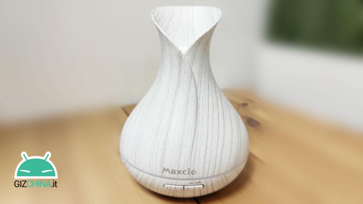 recensione maxcio smart aroma diffuser 01