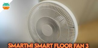recensione smartmi smart floor fan 3 ventilatore xiaomi copertina 1
