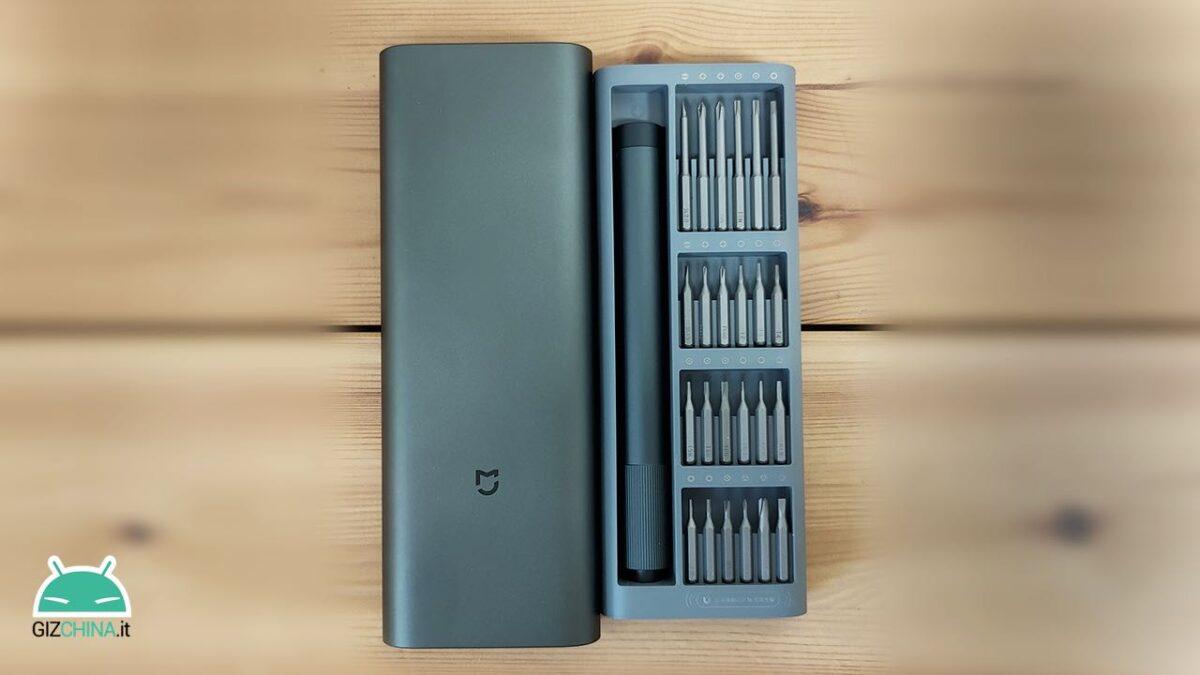 recensione xiaomi mijia electric precision screwdriver cacciavite 01