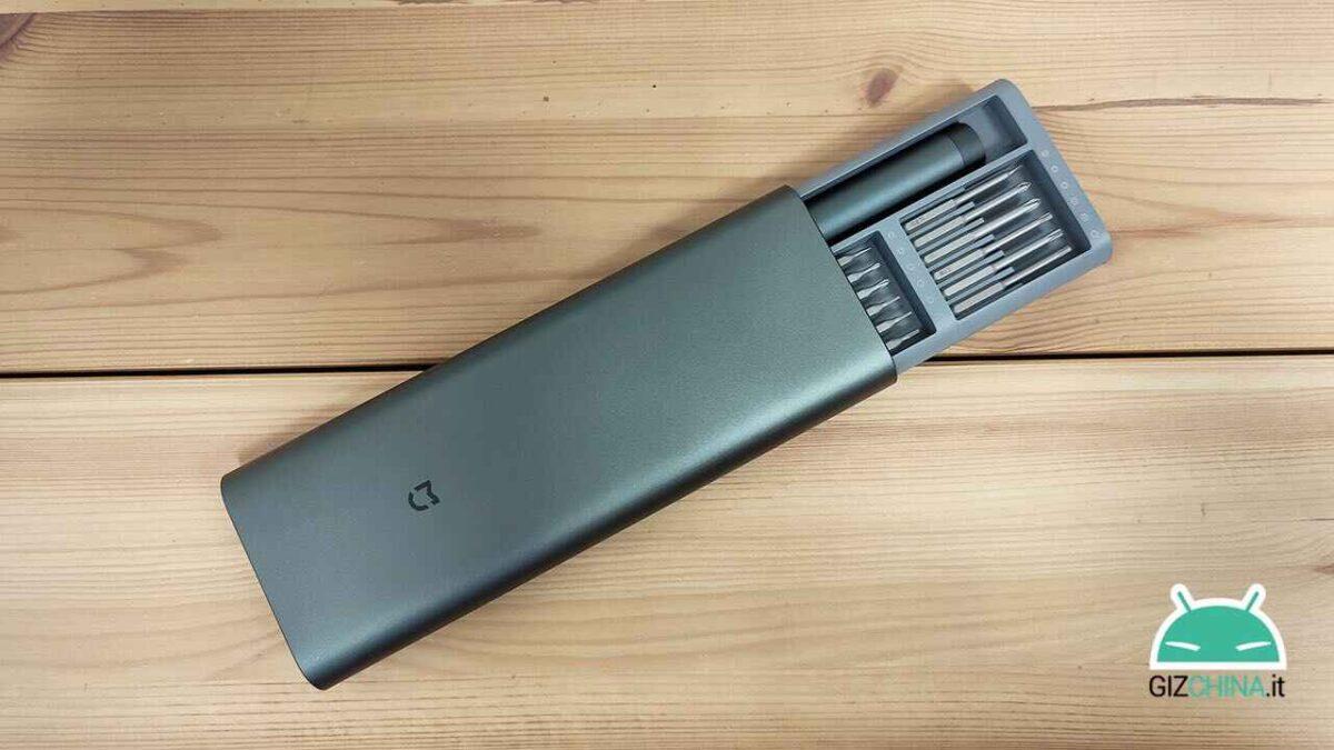 recensione xiaomi mijia electric precision screwdriver cacciavite 02
