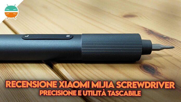 recensione xiaomi mijia electric precision screwdriver cacciavite copertina