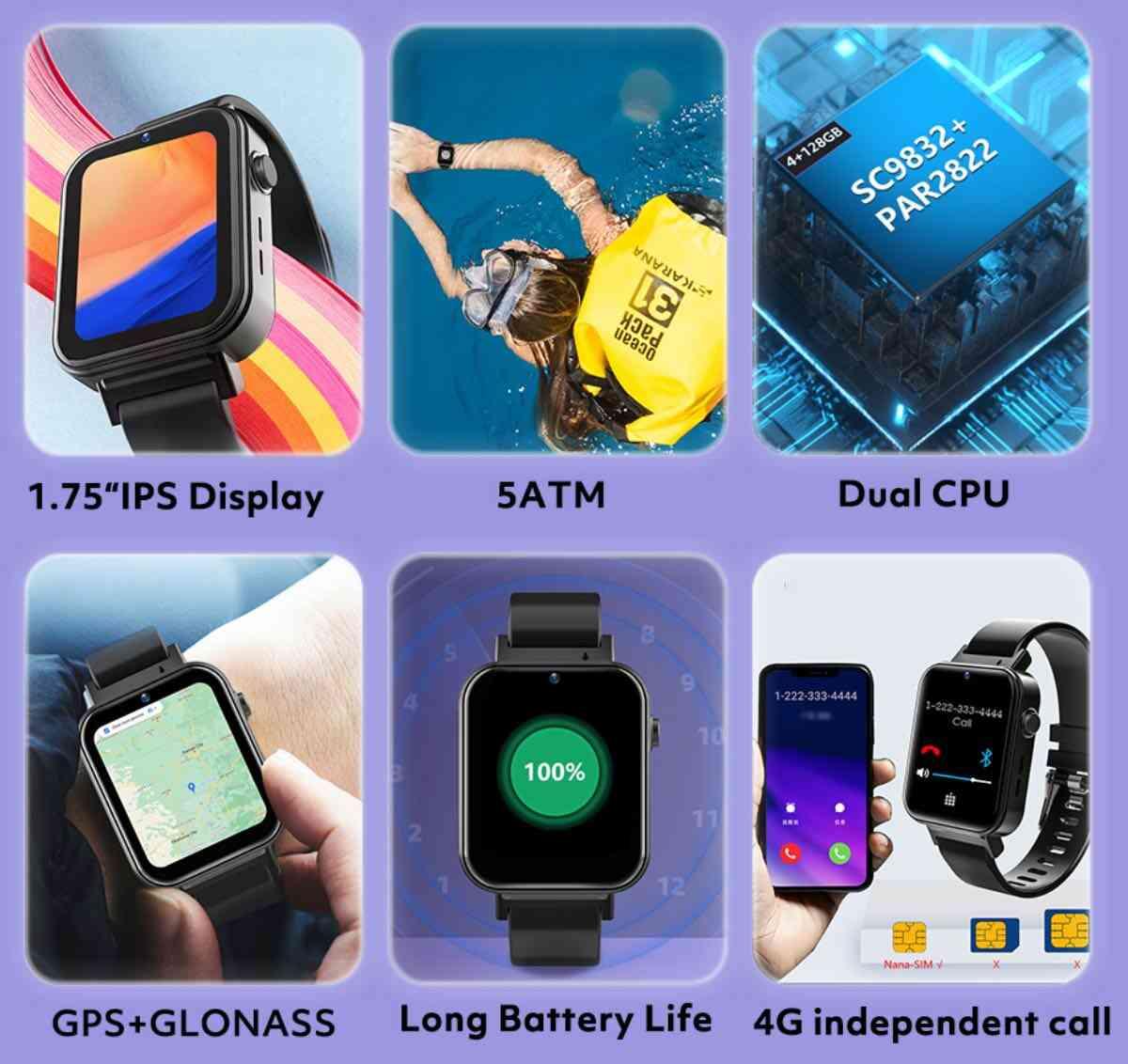 rogbid air smartwatch smartphone android caratteristiche prezzo 2