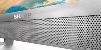 sharp line-up 2022 smart tv qled audio elettrodomestici prezzo