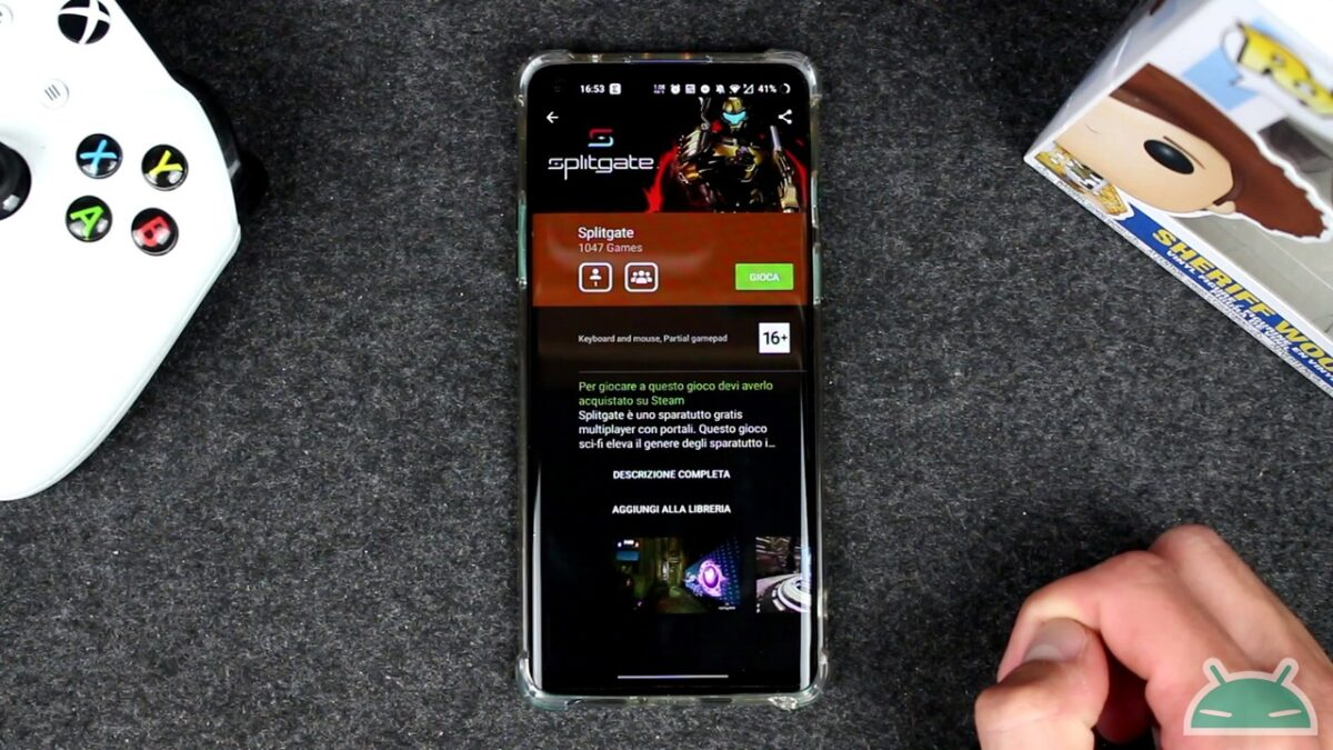 splitgate smartphone android iphone