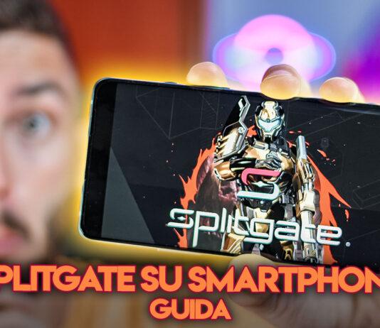 Tutorial Splitgate smartphone