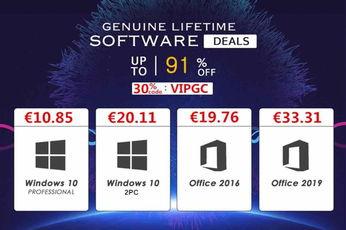 windows 10 office licenza a vita offerta codice sconto vipkeysale settembre 2021 2