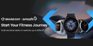 amazfit brand fest aliexpress offerte sconti tech smartwatch