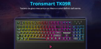 codice sconto tronsmart tk09r offerta coupon tastiera meccanica layout italiano