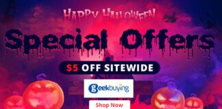 geekbuying happy halloween 2021 offerte coupon