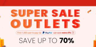 geekbuying super sale offerta codice sconto paypal 15/10