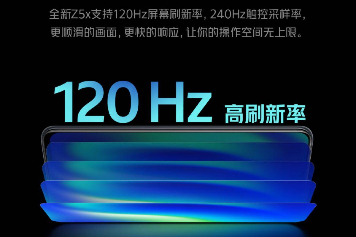 iqoo z5x display 19/10