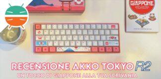 recensione akko tokyo r2 tastiera meccanica 61 tasti copertina